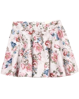 Mayoral Girl's Floral Print Skirt