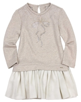 Mayoral Girl's Sweatshirt Dress with Mesh Bottom