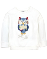 Mayoral Girl's Sweatshirt with Owl