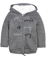 Mayoral Girl's Sherpa Lined Hoodie