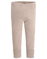 Mayoral Girl's Taupe Knit Leggings