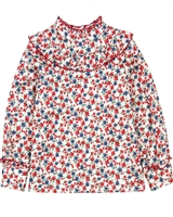 Mayoral Girl's Floral Print Blouse