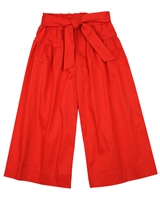 Mayoral Girl's Poplin Culotte Pants