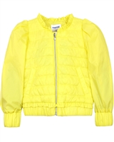 Mayoral Girl's Quilted Windbreaker with Puffed Sleeves