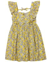 Mayoral Girl's Sundress in Leaves Print