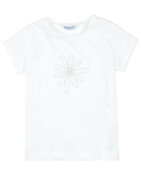 Mayoral Girl's T-shirt with Daisy Applique
