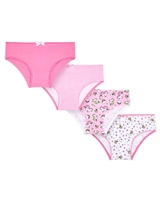 Mayoral Girl's 4-piece Underwear Set in Fuchsia