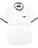 Mayoral Junior Boy's Short Sleeve Dress Shirt