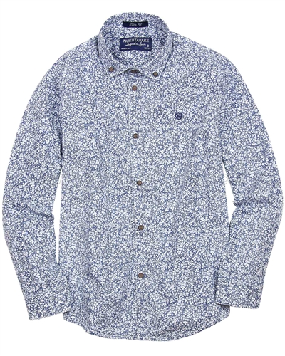 Mayoral Junior Boy's Floral Print Shirt