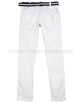 Mayoral Junior Boy's Chino Pants with Belt