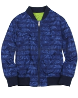 Mayoral Junior Boy's Reversible Printed Windbreaker
