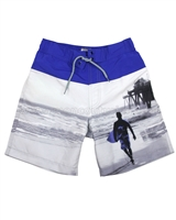 Mayoral Junior Boy's Ocean Print Swimshorts