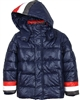 Mayoral Junior Boy's Puffer Coat with Stripes