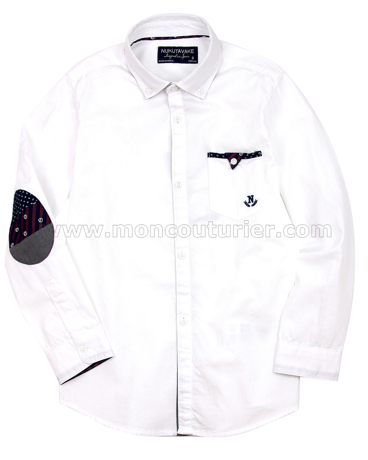 133120b1ea5e Mayoral Junior Boy s Shirt with Elbow Patches - Mayoral - Mayoral ...