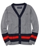 Mayoral Junior Boy's Knit Cardigan with Stripes