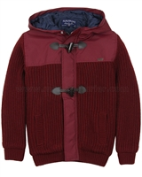 Mayoral Junior Boy's Hooded Knit Jacket