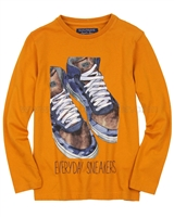 Mayoral Junior Boy's T-shirt with Boots Print