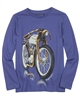 Mayoral Junior Boy's T-shirt with Motorcycle Print