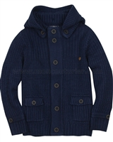 Mayoral Junior Boy's Hooded Knit