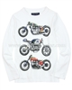 Mayoral Junior Boy's T-shirt with Printed Motorcycles