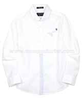 Mayoral Boy's Long Sleeve Shirt White
