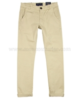 Mayoral Boy's Slim Fit Chino Pants Beige