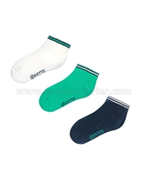 Mayoral Boy's Short Socks Green/Navy