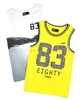 Mayoral Boy's Sleeveless T-shirts Set of Two Yellow