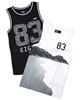 Mayoral Boy's Sleeveless T-shirts Set of Two Black