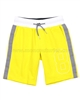 Mayoral Boy's Terry Shorts with Stripes Yellow