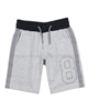 Mayoral Boy's Terry Shorts with Stripes Gray