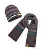 Mayoral Junior Boys' Gray Hat and Scarf Set