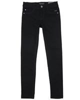 Mayoral Junior Boys' Black Super Slim Denim Pants