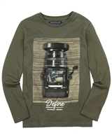 Mayoral Junior Boys' T-shirt with Camera Print