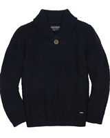 Mayoral Junior Boys' Pullover with Shawl Collar