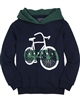Mayoral Junior Boys' Navy Sweatshirt with Bicycle