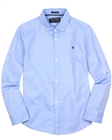 Mayoral Junior Boys' Light Blue Oxford Shirt
