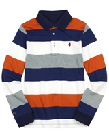 Mayoral Junior Boys' Striped Polo
