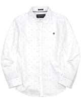 Mayoral Junior Boys' Light Blue Printed Shirt