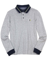Mayoral Junior Boys' Jacquard Dot Polo