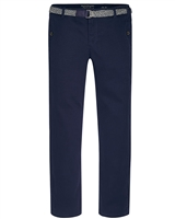 Mayoral Junior Boys' Chino Pants with Belt