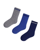 Mayoral Junior Boys' 3-pair Socks Set Blue