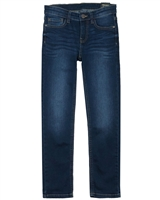 Mayoral Junior Boys' Basic Denim Pants in Dark Blue