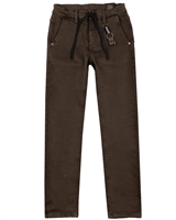 Mayoral Junior Boys' Loose Fit Jogg Jean Pants in Brown