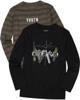 Mayoral Junior Boys' T-shirts, Set of Two