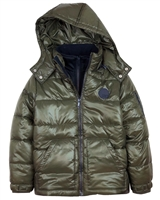 Mayoral Junior Boys' Transitional Quilted Coat
