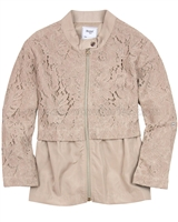Mayoral Girl's Windbreaker with Lace
