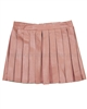 Mayoral Junior Girl's Pleated Pleather Skirt Blush