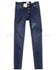 Mayoral Junior Girl's Skinny Denim Pants with Applique