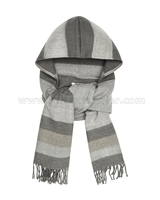 Mayoral Junior Girl's Hooded Shawl Scarf